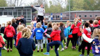 De Koningsspelen op de Jan Hekmanschool in Ouderkerk aan de Amstel