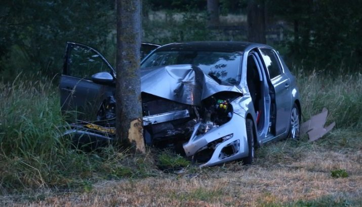 Arrestatie voor tragisch ongeluk door kei op de weg Schijndel.