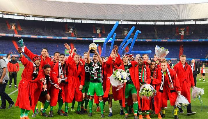 Feyenoord maandagmiddag gehuldigd in de Kuip - Nieuws.nl