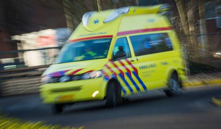 A58 dicht na ongeluk bij Bergen op Zoom.