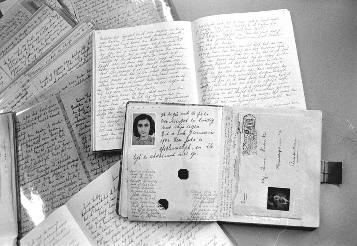 Citaten Uit Dagboek Anne Frank : Afgeplakte teksten dagboek anne frank openbaar nieuws