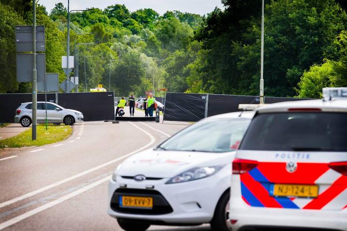Busje aanrijding teruggevonden in Heerlen.