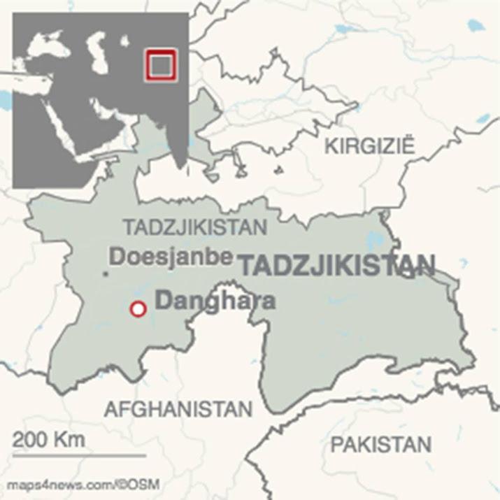 Man komt om bij aanrijding Tadzjikistan.