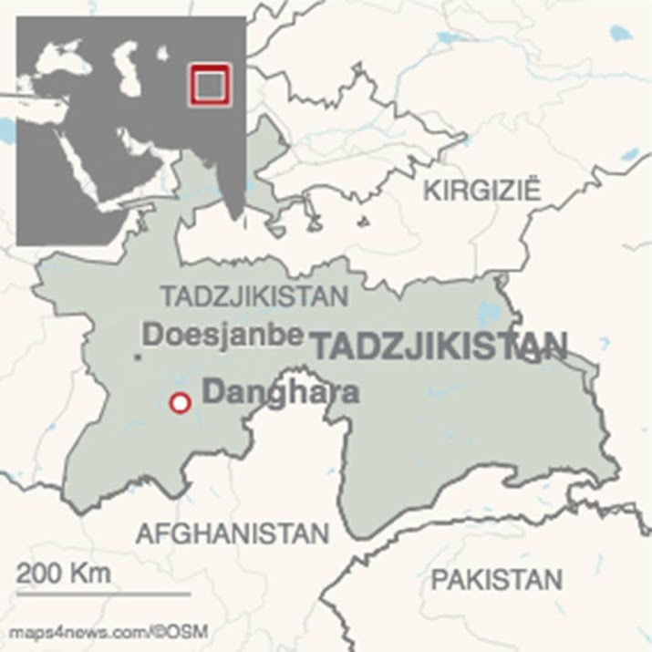 Nederlandse fietstoerist komt in Tadzjikistan om na aanrijding.
