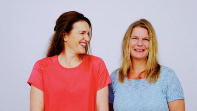 Saskia Smith & Martine de Vente