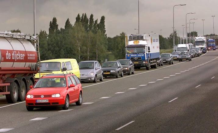 Tot in avondspits problemen op A58 na ongeval.