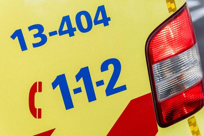 A7 uren dicht na ongeval bij Winschoten.