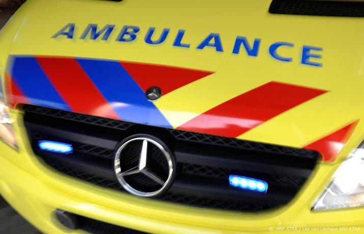 Motorrijder verongelukt in Waalwijk.
