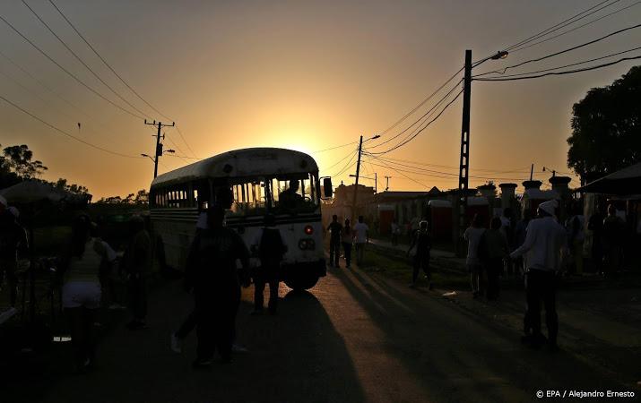 Nederlanders betrokken bij busongeluk Cuba.