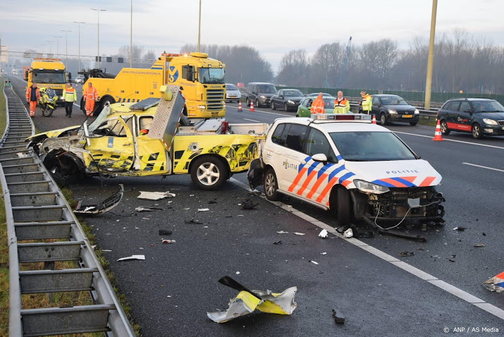 Helft meer weginspecteurs aangereden.