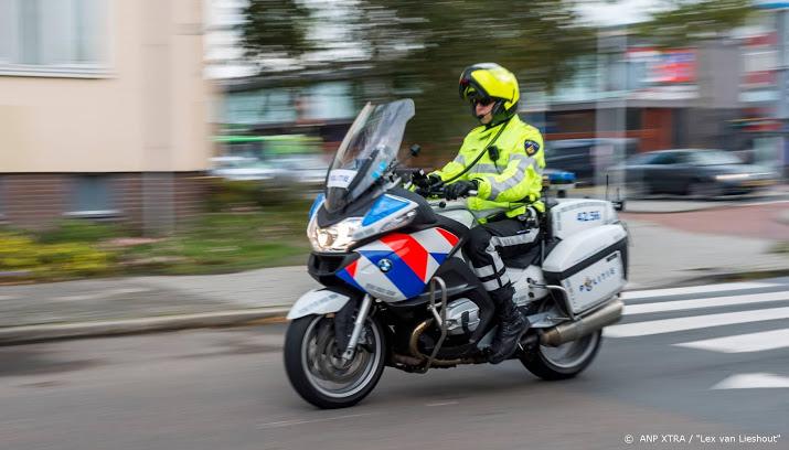 File na ongeval op A12 bij Woerden.