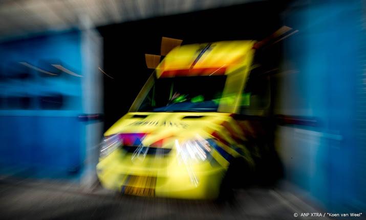 2 volwassenen en 4 kinderen gewond door ongeluk Rotterdam.
