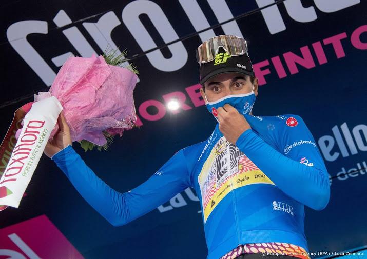 Aanrijding levert wielrenner Guerreiro gebroken sleutelbeen op.