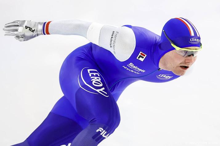 Noorse schaatser Pedersen zwaargewond na fietsongeval.