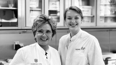Alike Hezemans-Bakker en Manon Oostindie