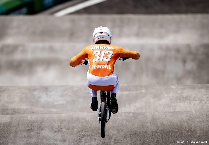 BMX'ers laten zich niet van de wijs brengen door ongeval Kimmann.