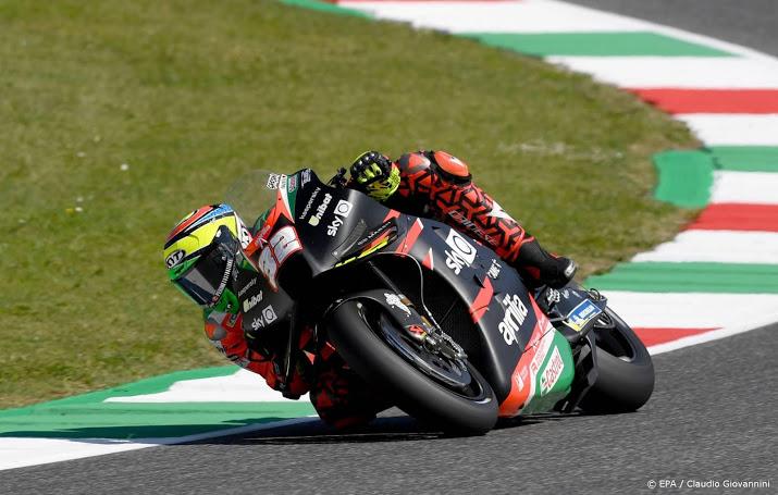 MotoGP op Stiermarken even stilgelegd na zwaar ongeval.