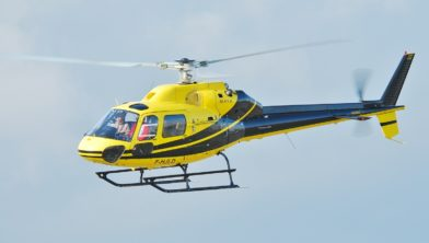 Helikopter van het type Airbus AS355