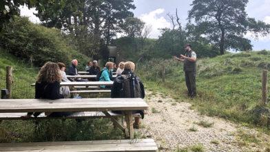 Excursie bij Fort K'IJK met Jeroen Engelhart
