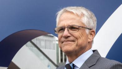 Pieter Dijkman, wethouder economische zaken, blij met livestream op Dag van de Ondernemers