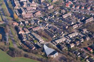 Luchtfoto Westerkerk eo
