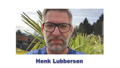 Henk Lubbersen van Eetcafé De Vos.