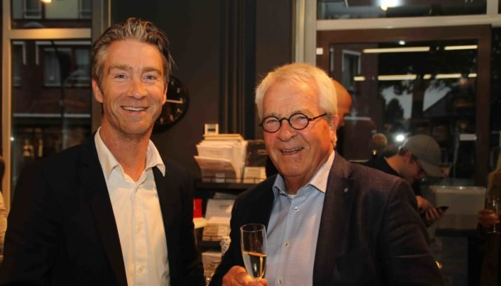 Haje en zijn vader Gerrit Schreurs.