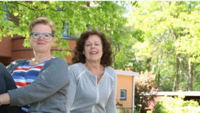Laura Jansen en Ineke den Herder.