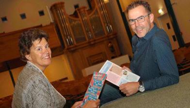 Anja Duinker en Arie van Buuren.