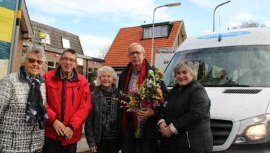Eefke Sonnenberg, Reyer Hoeve, Jannie en Wybe de Vries en Jenny Kuiper.
