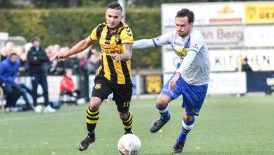 Benjamin Roemeon is tweemaal succesvol tegen Jong De Graafschap.