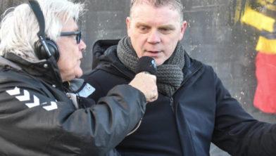 Piet Smit in gesprek met Bert van Hunenstijn.