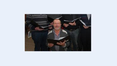 Bert van Panhuis uit Ermelo kan zingen bij het koor van harte aanbevelen.