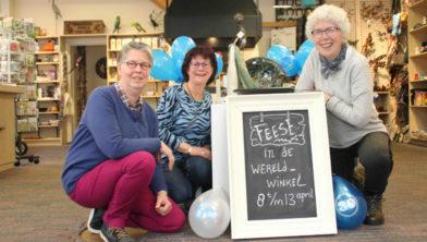 Jeannette Mulder, Tineke van de Beek en Anneke Klok.