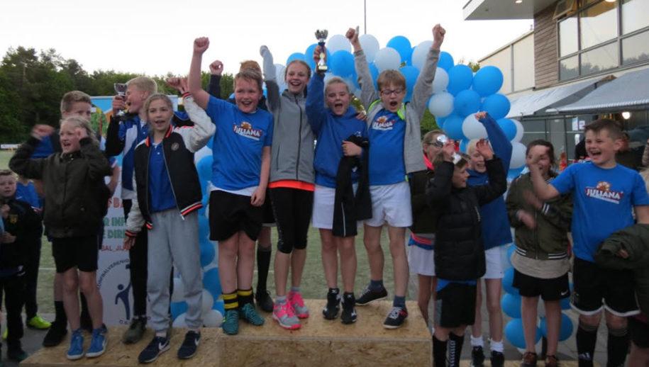 Winnaars groep 7.