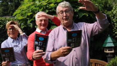 Doky, Migchel en Piet-Hein zien uit naar het nieuwe filmseizoen.