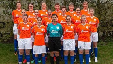 Het damesteam van FC Horst.