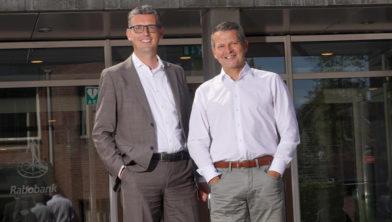 Erik Groeneveld en Coen Nap.
