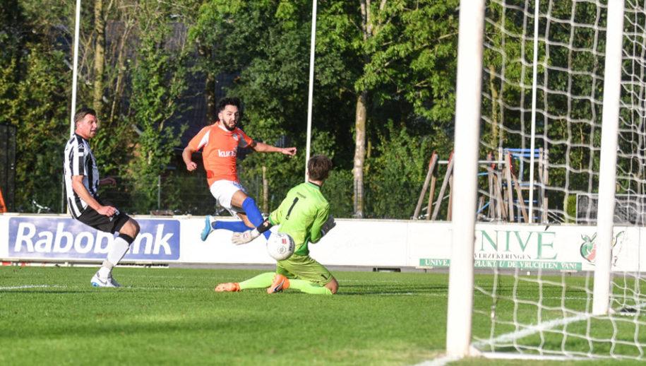 Amer Torkmani bracht FC Horst op voorsprong.