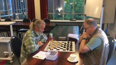 Wim Hagendijk en Willem Booy.