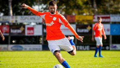 Ramazan Leebeek scoort tegen Unicum de eretreffer voor FC Horst.