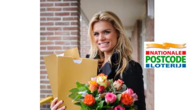 Postcode Loterij-ambassadeur Nicolette van Dam.