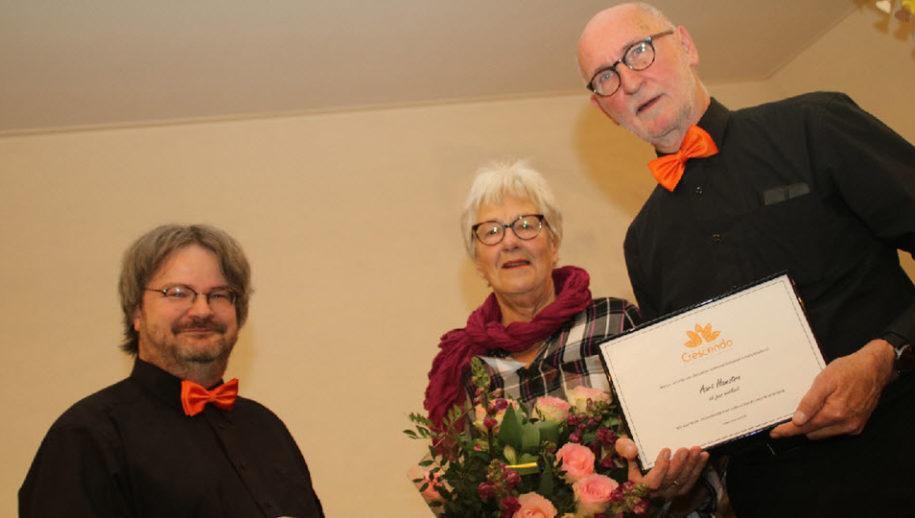 Adriaan Versluis en Greet en Aart Hamstra.