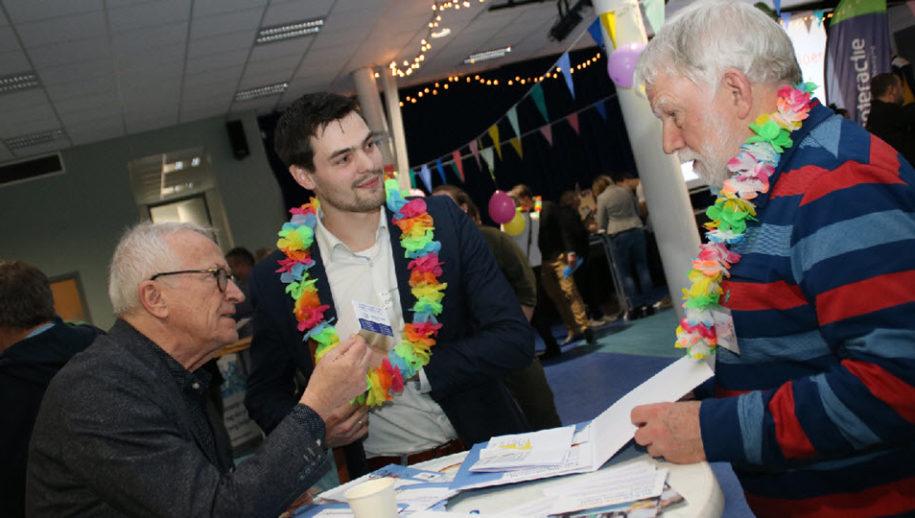 Alex Kleijnen, Martin van Emaus en Jos van der Deure.