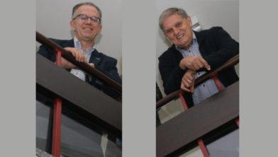 Ruud Kraan en Henk van Bruggen.