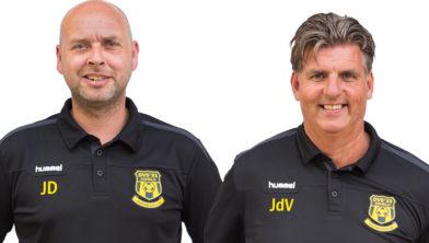 John Dooijewaard en Jaap de Vries.