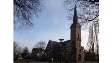 Immanuelkerk aan de Stationsstraat 137 in Ermelo.