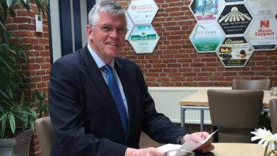 Burgemeester André Baars.