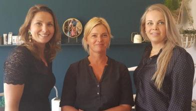 Merel Dirksen, Marit Guliker en Emily de Klerk.