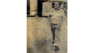 Gert van Winkoop was destijds al ruim 15 jaar voorzitter van FC Horst